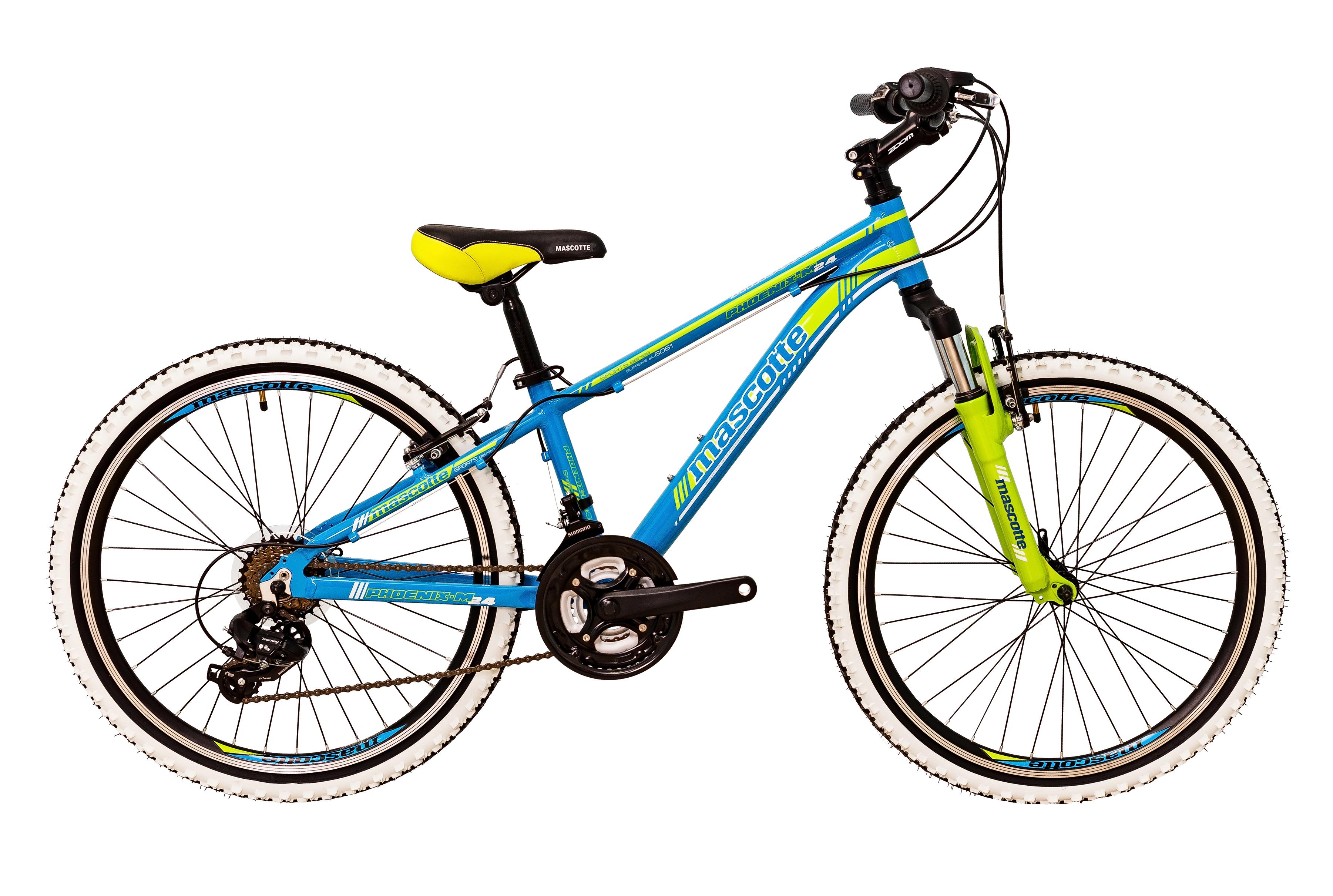 Mascotte Phoenix 24» alloy , сине - зеленый подростковый 201